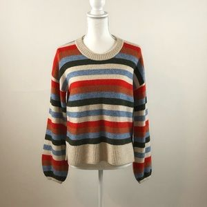 Madewell - Payton Coziest Yarn Striped Pullover